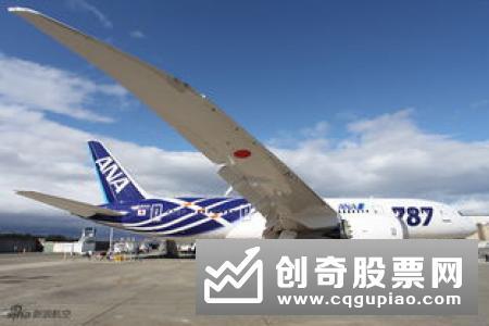 波音向中国交付第100架787型梦想客机